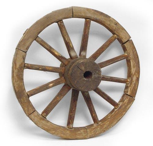 колеса для тележек со спицами