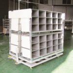Модульный стеллаж для хранения с ячейками