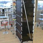 Вертикальный стеллаж для хранения