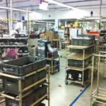 Система модульных тележ на производстве