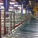 Сортировочная линия на производстве