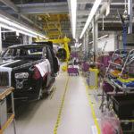Стационарное рабочее место на автомобильном производстве