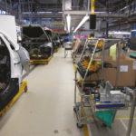 Мобильное рабочее место на автомобильном производстве
