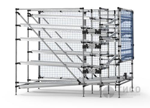 Гравитационный стеллаж-lean технологии