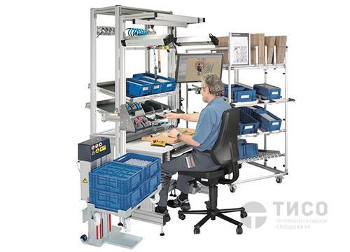 Укомплектованное рабочее место на одного человека