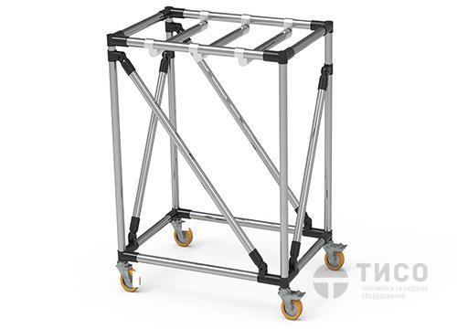 Высокая модульная тележка с усиленной конструкцией