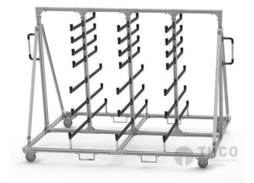 Передвижное оборудование со стальным каркасом