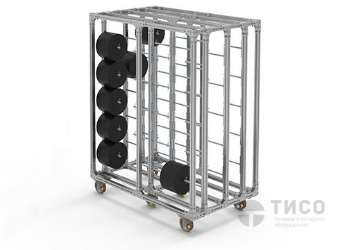 Усиленное передвижное оборудование для тяжелых деталей