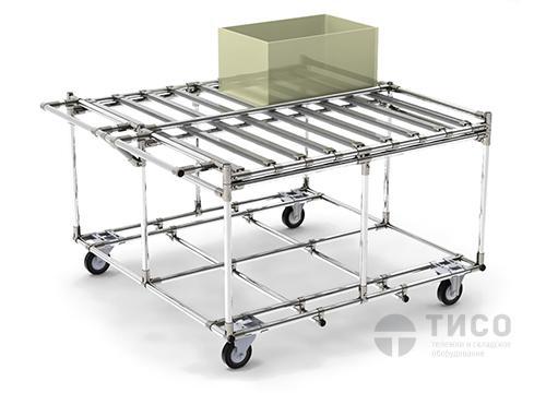 Модульная тележка для перевозки коробок