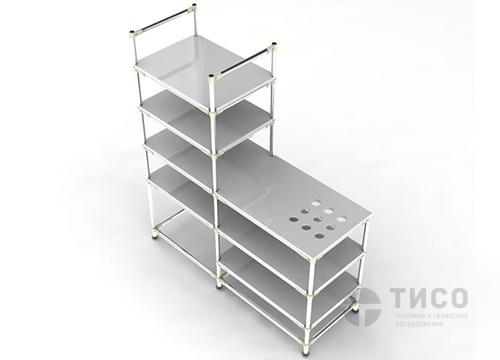 Стеллаж-рабочий стол