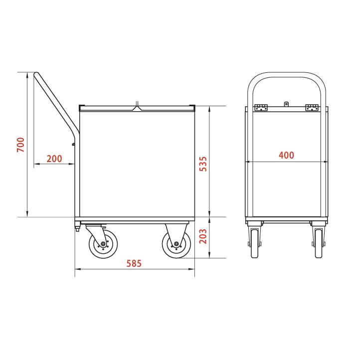 Схема тележки TKM