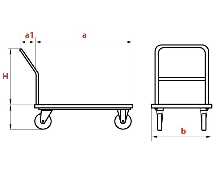 Схема тележки ТМ